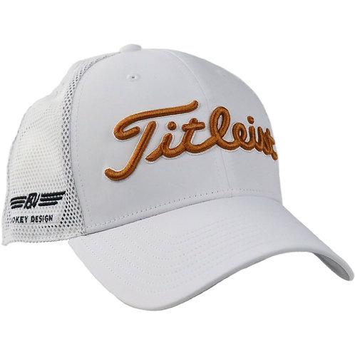 Titleist Vokey Design Limited Mesh Cap (White/Gold) フリーサイズ