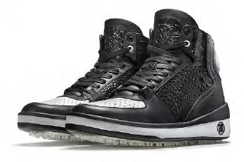 "G/FORE Men's Golf Shoes ""CRUSADER"" (Black/White)"