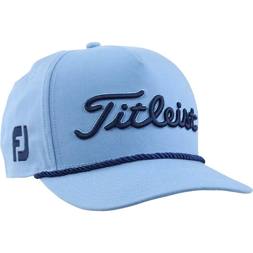 Titleist Tour Rope Cap (Mako Blue) フリーサイズ