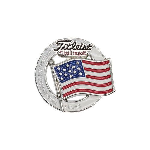 Titleist Flag Ball Marker (USA)