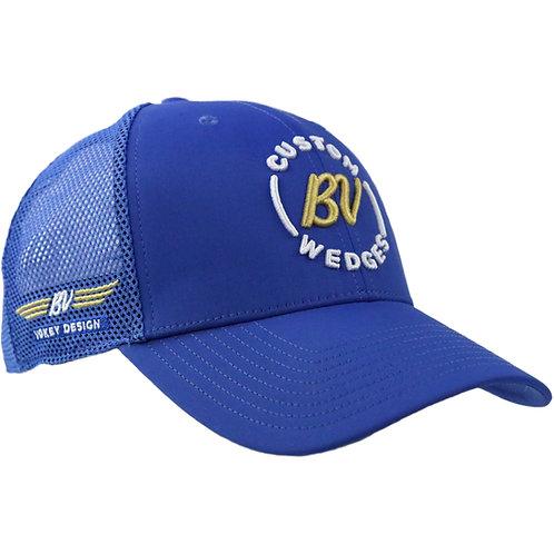 Vokey Design BV Custom Wedges & Wing Logo Limited Mesh Cap (Blue) フリーサイズ