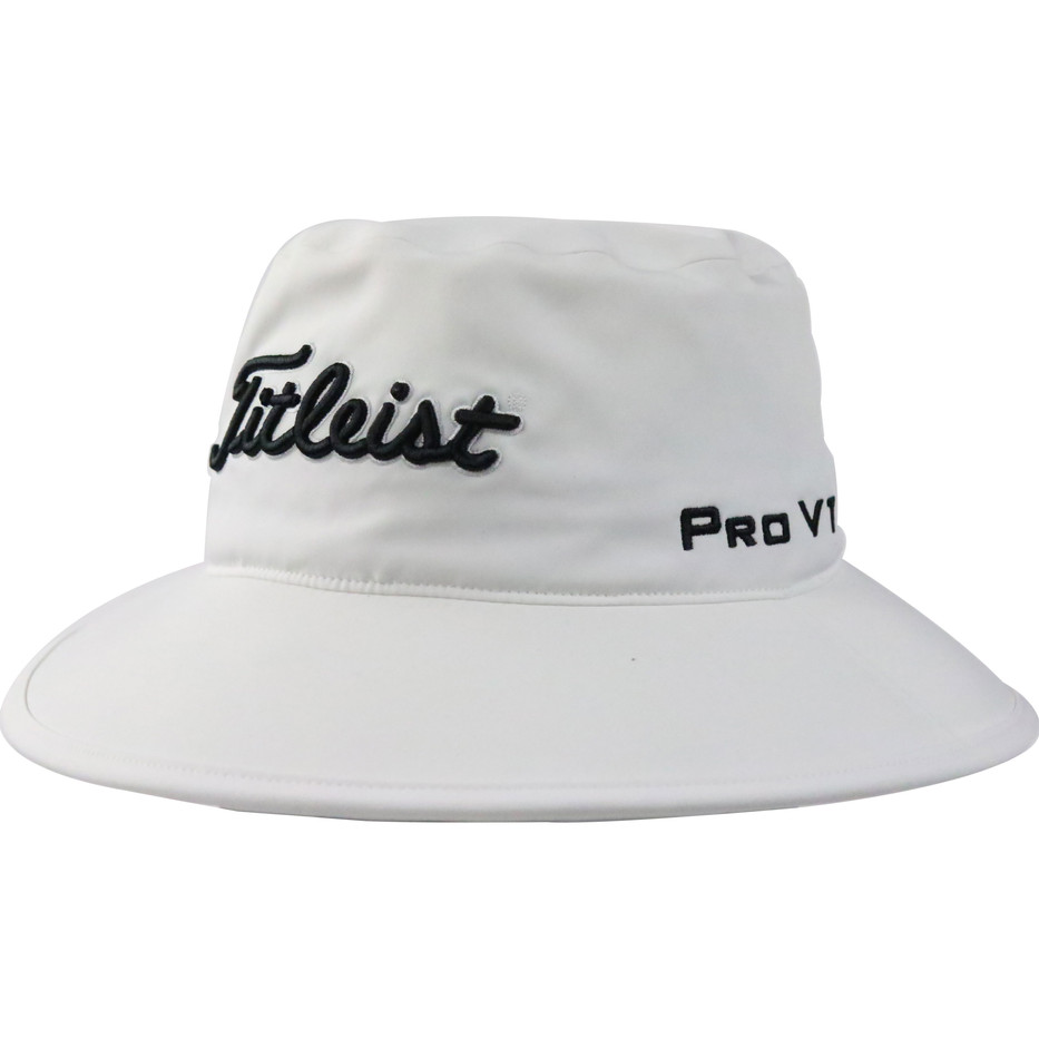 Titleist-StaDry-Rain-Bucket-Hat-(White)-