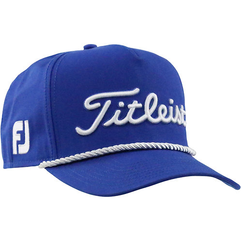 Titleist Tour Rope Cap (Royal/White) フリーサイズ