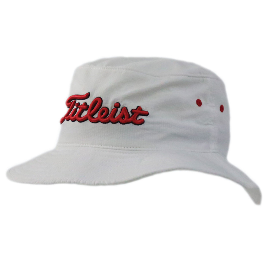 Titleist Bucket Hat (WhiteRed)-2.jpg