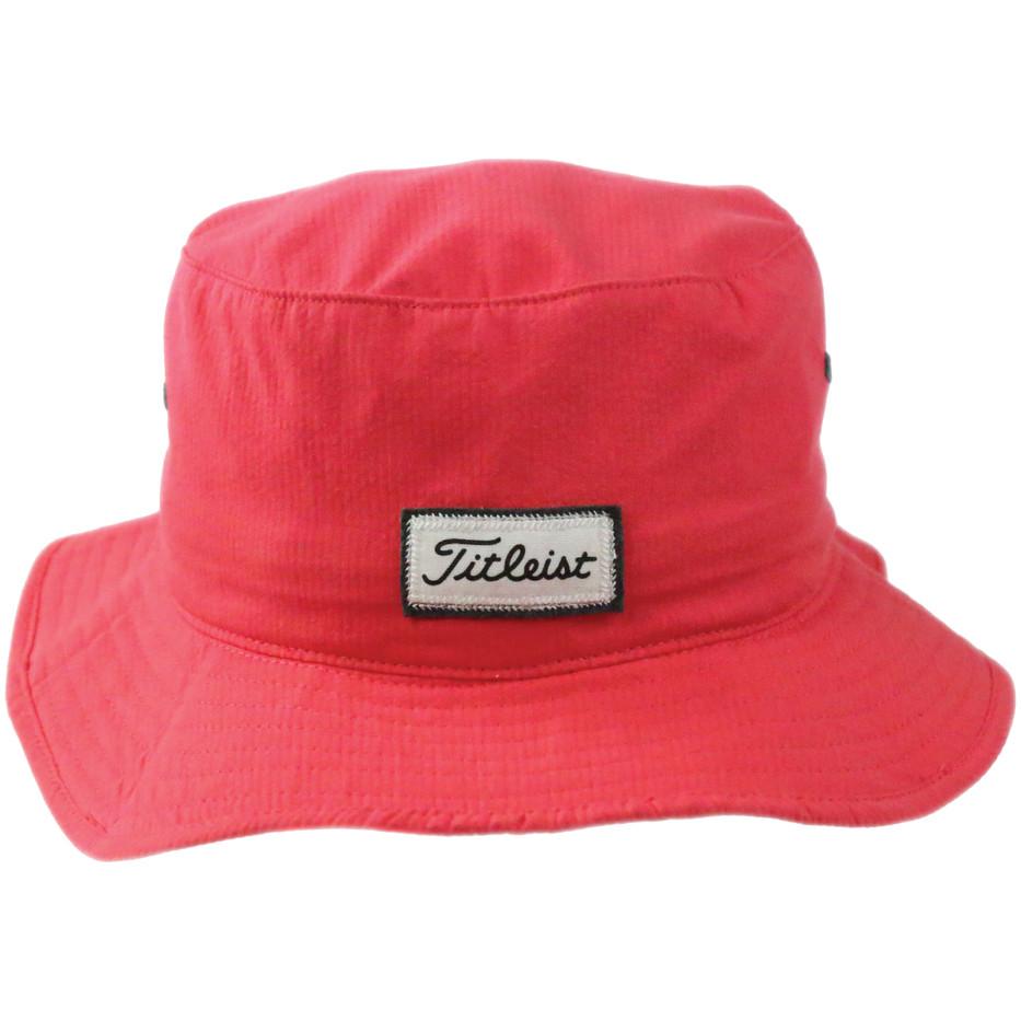 Titleist Bucket Hat (RedGray)-4.jpg