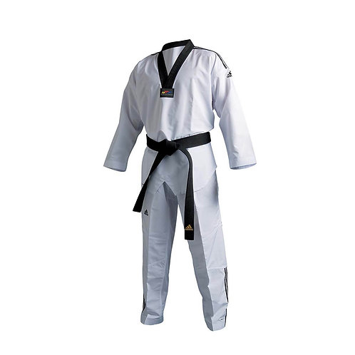 ADIDAS FIGHTER DOBOK  WITH Stripes & Team Carlo Embroidery