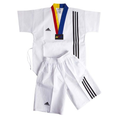 adidas Kids Summer Dobok with Team Carlo Embroidery