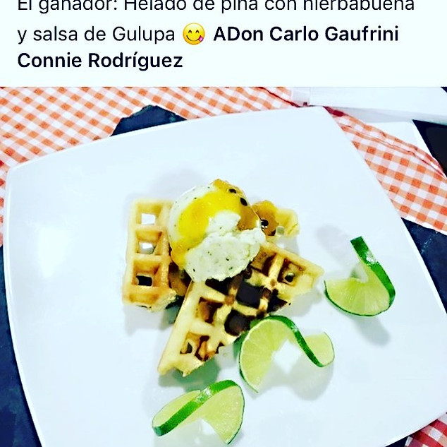 Don't call A Gaufrini just a waffle ...