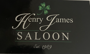 Henry James Saloon Logo.png