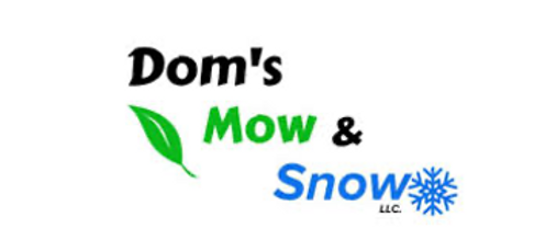 Dom's Mow and Snow Logo.png