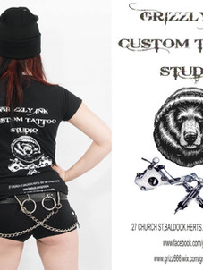 Grizzly ink Tattoo Studio
