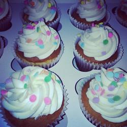 Classic Birthday Cupcakes