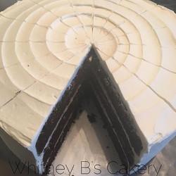 Triple Layer Chocolate Cake