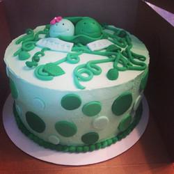 Custom Pea Cake