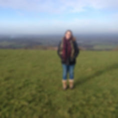 Fresh air walking the haunted Chanctonbury Ring!