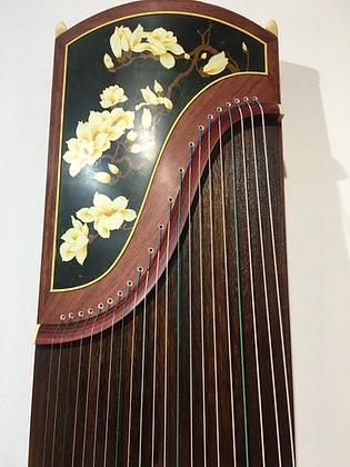 敦煌牌 浮光溢彩 (玉兰望春)Dunhuang Guzheng (Spring blossoms)