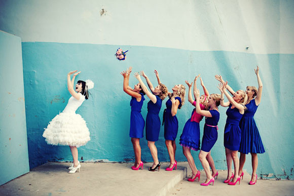 Bridesmaid Dresses Royal Blue