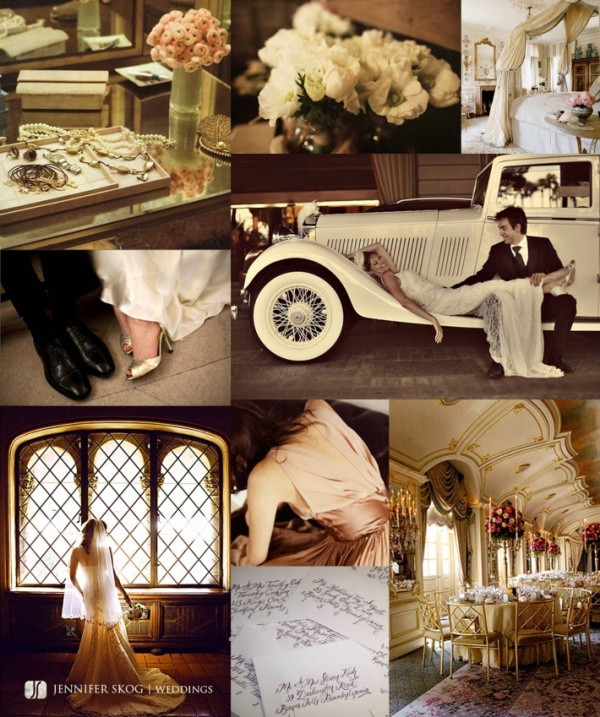 Vintage Luxe Wedding Theme
