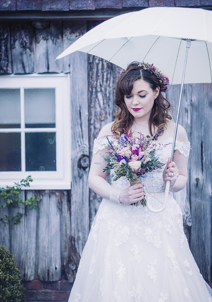 Wedding Rain makes beautiful photographs