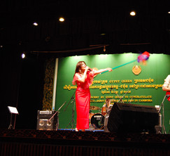 LIVE in Phnom Penh in Cambodia