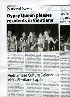 Laos National News 2005