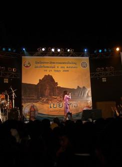 Wat Phou Festival in Laos