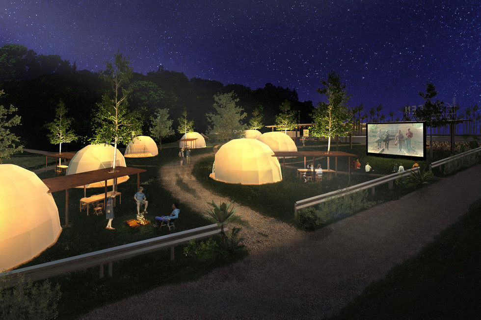キャンプ場デザイン
