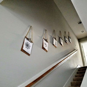 Sweet and Easy Clipboard Decor