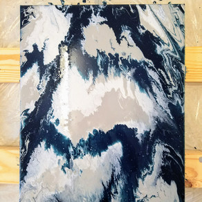 Fluid Acrylic Painting with Gloss Medium