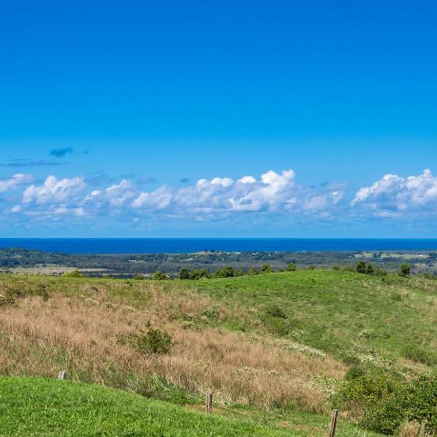 Ocean and hinterland views