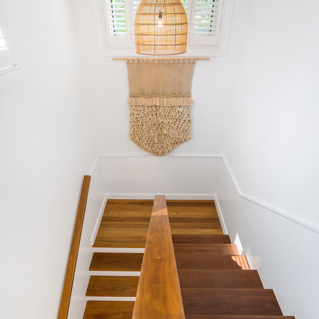 Staircase to downstairs