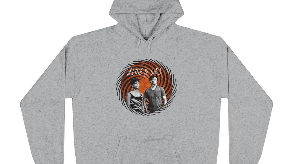 Unisex EcoSmart® Pullover Hoodie Sweatshirt - Spiral
