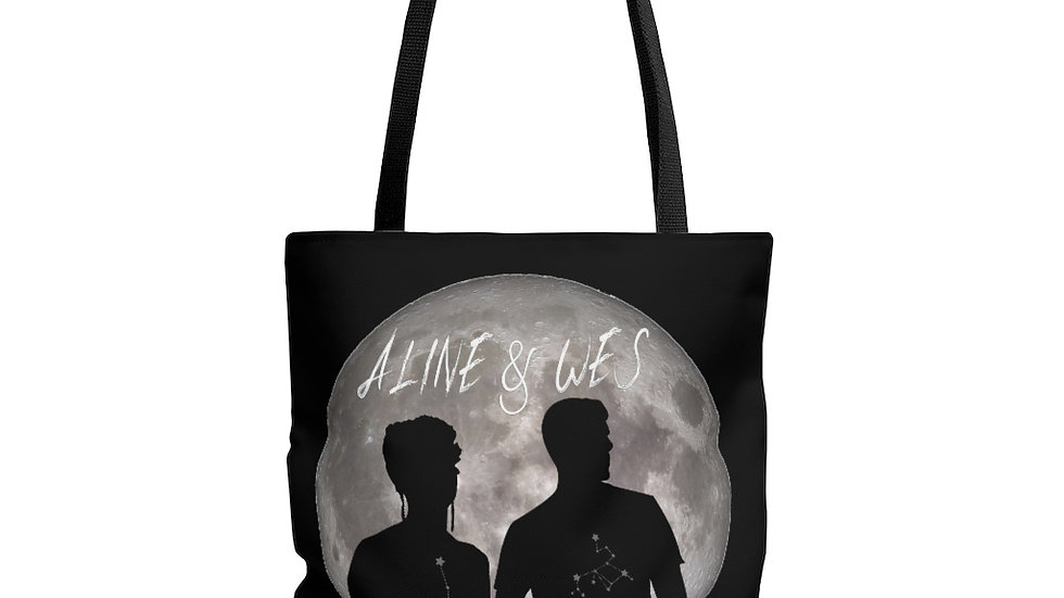 AOP Tote Bag - Moon