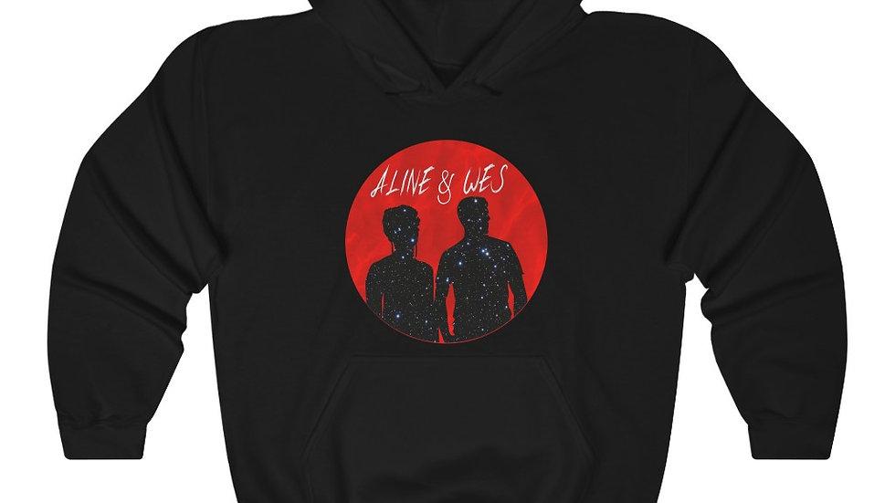 Unisex Heavy Blend™ Hooded Sweatshirt  - Red Moon