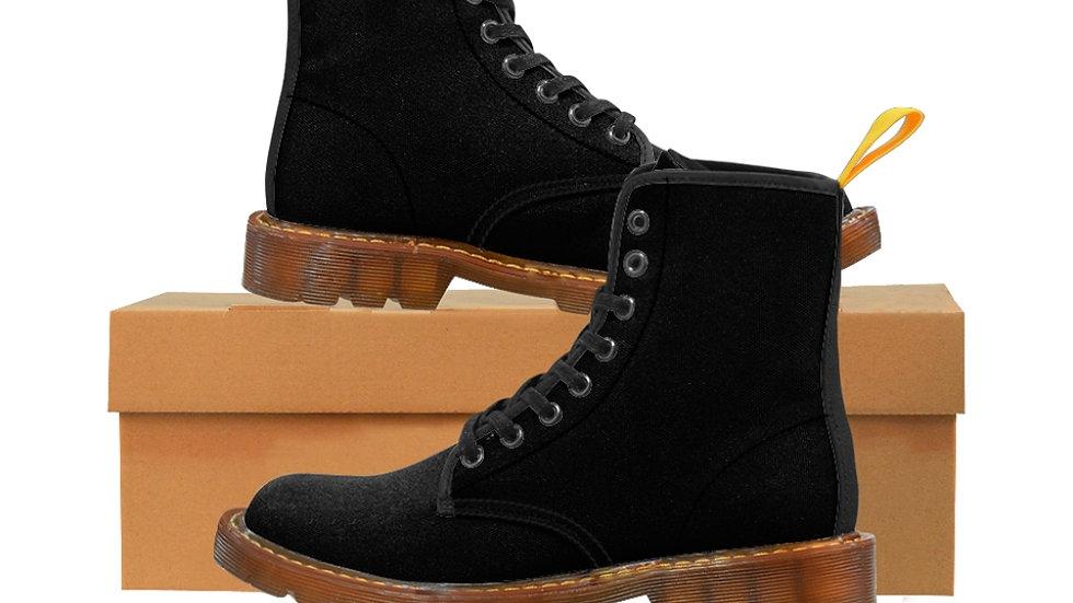 Women's Canvas Boots - Spiral