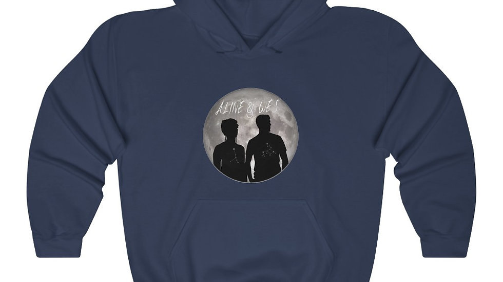 Unisex Heavy Blend™ Hooded Sweatshirt  - Moon