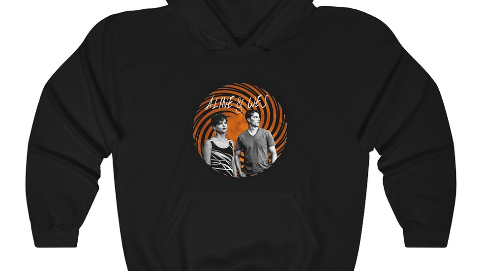 Unisex Heavy Blend™ Hooded Sweatshirt - Spiral