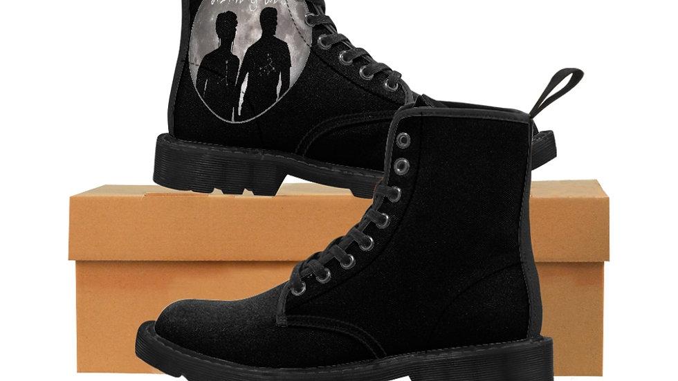 Men's Canvas Boots - Moon