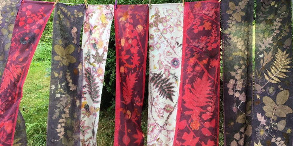 Ecoprint Retraite sur textile, papier et cuir
