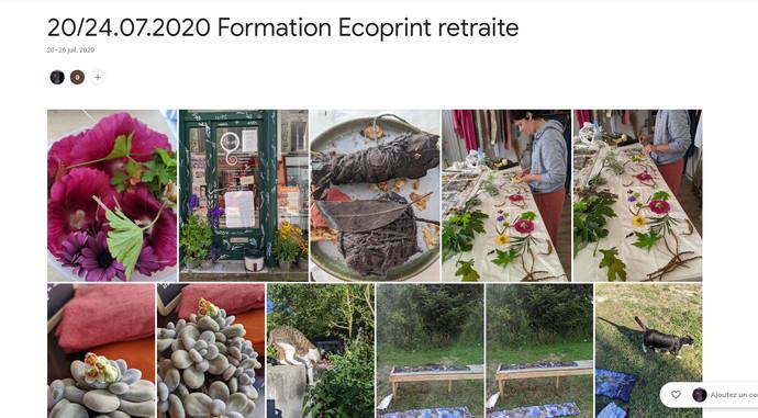 2020 Formation Ecoprint retraite