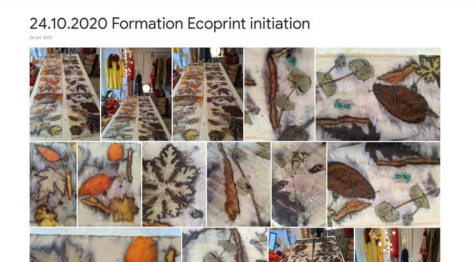 2020 Formation Ecoprint Initiation