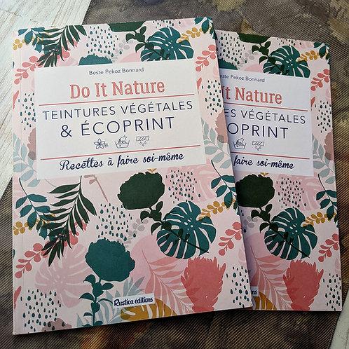 Livre Teintures végétales et écoprint