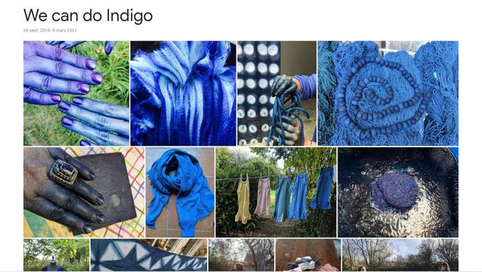 We can do indigo