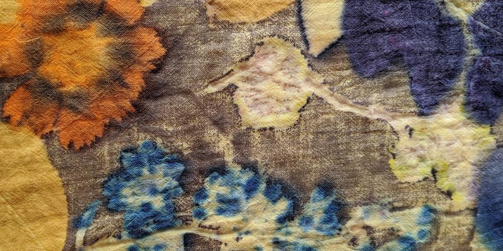 Ecoprint intensif sur textile et papier