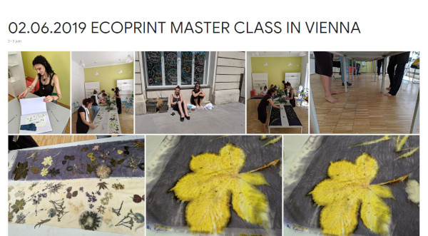 2019-06-02 ecoprint master class in Vien