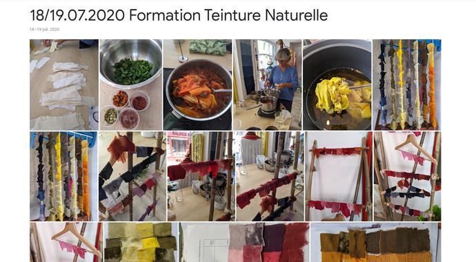 2020 formation teinture naturelle