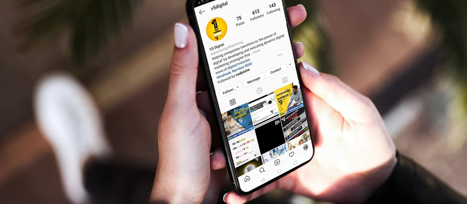 Want to get the most from your Instagram Bio? V5 Digital has the solution