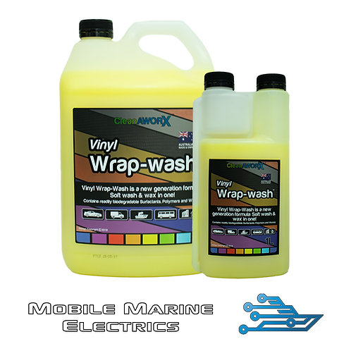 CleanAWORX Vinyl Wrap Wash