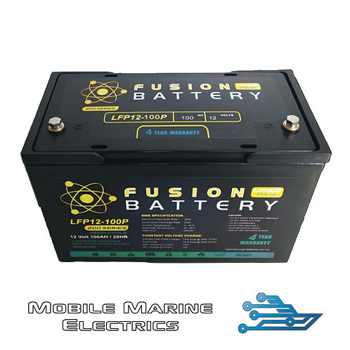 FUSION PULSE LFP-12-100 LITHIUM BATTERY