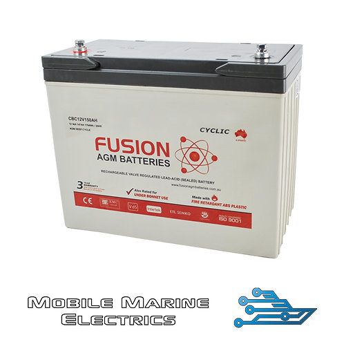 FUSION CBC12V150AH AGM BATTERY